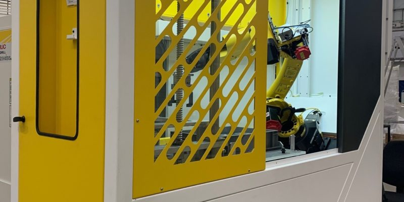 FANUC partners with RoboPod to launch ultra-low footprint turnkey machine tending cell
