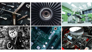 We provide components for a variety of industries