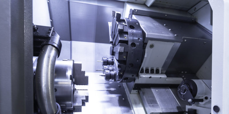 Iron Mason all round capability enhanced  with XYZ turning centre