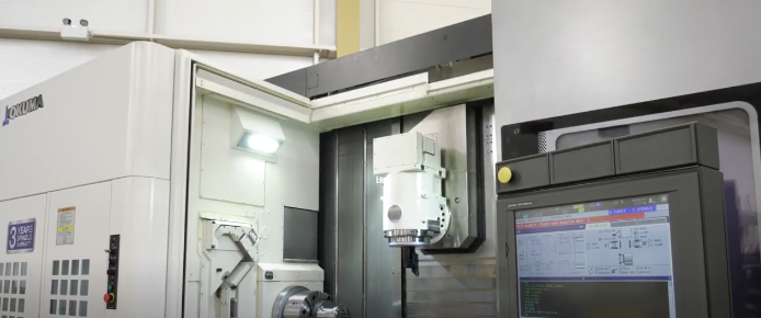 The world's most accurate spindle – on an Okuma Multus U4000 multi-tasking lathe from NCMT