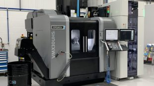 Hurco VMX30U Hsi 5 axis machining centre with pallet system for sale