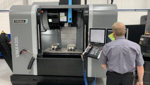 Hurvco VMX42Di heavy duty machining centre