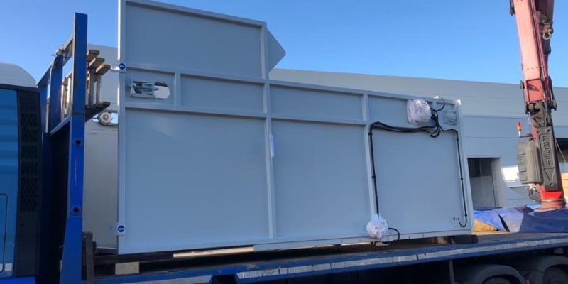 Complete Swarf Processing System Installation