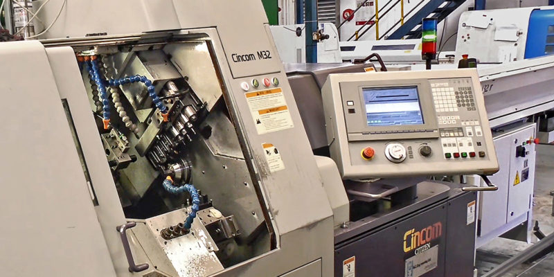 USED SLIDING-HEAD LATHE RECEIVES  FULL SUPPORT FROM THE MANUFACTURER