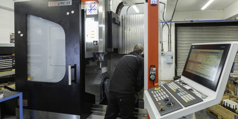 Machining progression with XYZ Machine Tools proves positive for Westin Engineering