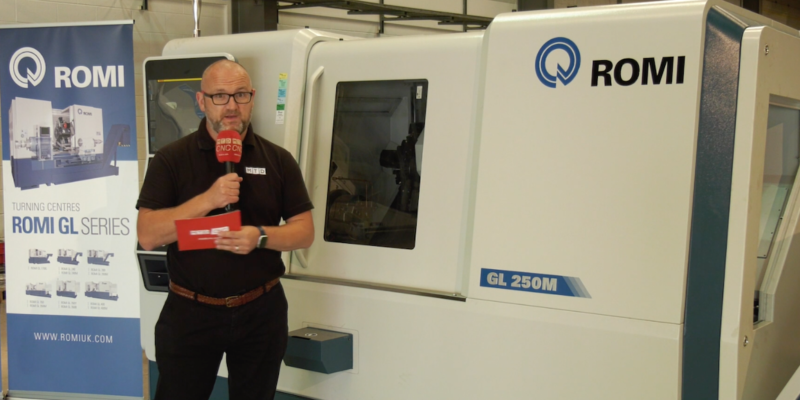 Romi GL 250M CNC lathe, ex stock – Serious technology