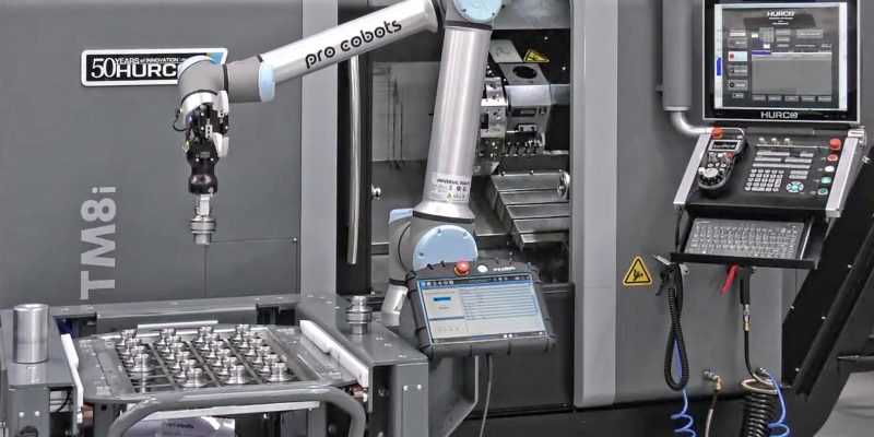HURCO SETS UP AUTOMATED PRODUCTION DEMONSTRATION