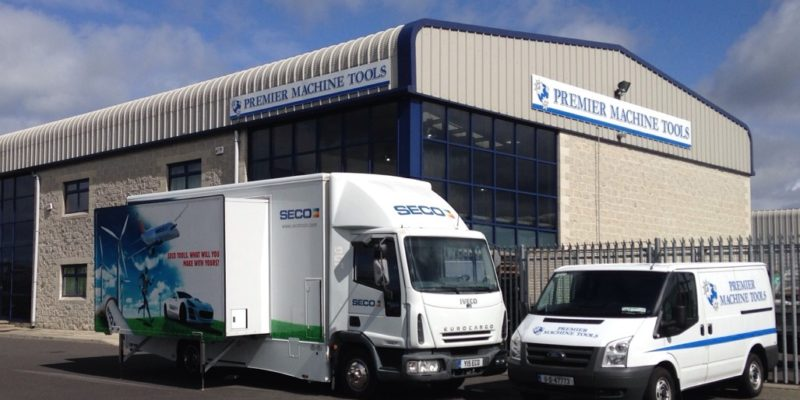 Seco invest in Premier Machine Tools as their Ireland partner for over 20 years