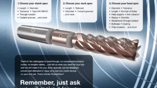 Quickgrind Mirage, Mirage Super and Delta – High Performance End Mills