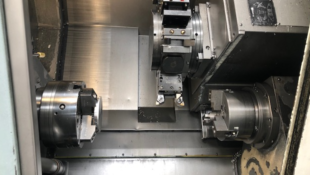 ***SPECIAL OFFER*** GILDEMEISTER CTX310 SUB SPINDLE TURNING CENTRE IN Y-AXIS INCLUDING MAGAZINE BAR LOADER