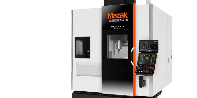 Next generation compact 5-axis vertical machining centre