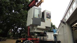 New XYZ 500 LR machining centre
