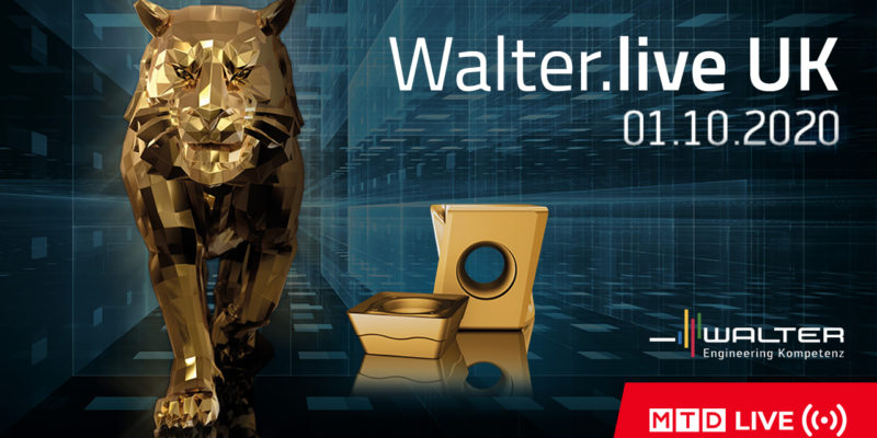 Walter.Live.UK – Join us October 1st