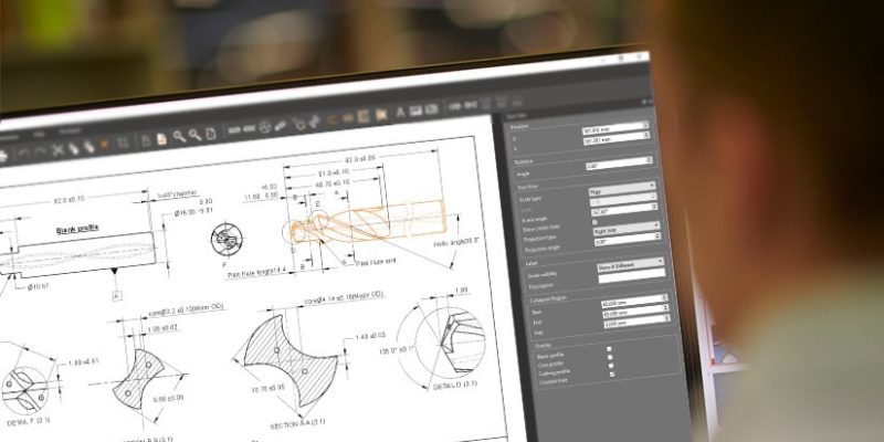 Saves hours of design time with ToolDraft from ANCA