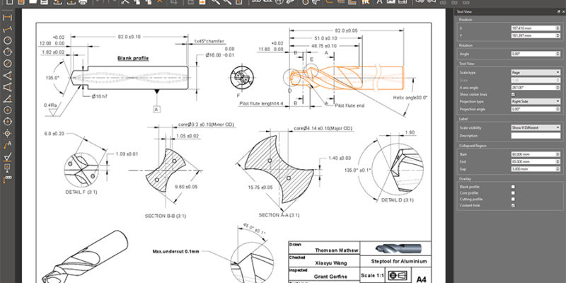The ultimate drafting package for cutting tools