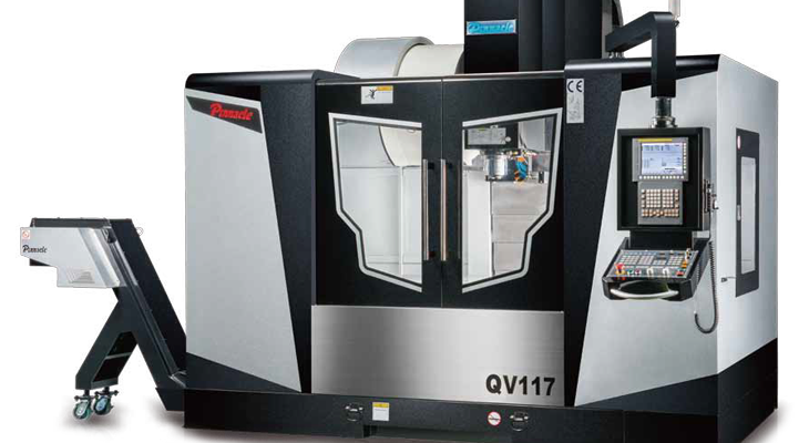 New machining centres from Pinnacle