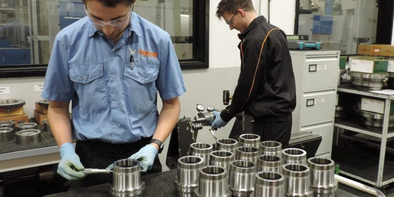 Mazak commits to next generation with 17 new apprentices