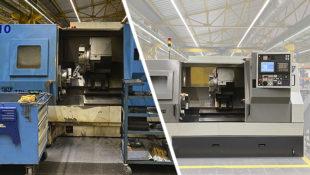 Model: TBI-520-B-ServoT | Used CNC lathe | 100% reconstructed by CMZ (manufacturer)