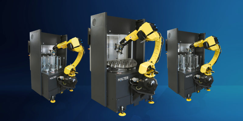 Halter expands its portfolio of CNC loading robots with the HALTER Compact