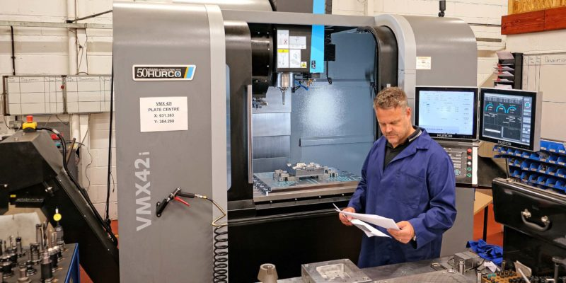 PAIR OF HIGH-SPEED MACHINING CENTRES DUPLICATED AFTER 20 YEARS