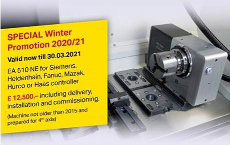 Special Winter Promotion – Lehmann Rotary Tables