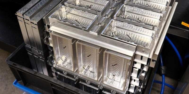 Medical housings machined 40% faster