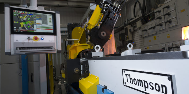 Thompson friction welding machines, built by KUKA in The Black Country UK