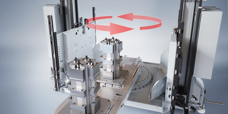 New FMS Double Loader For Machine Tools Without Automatic Pallet Changers