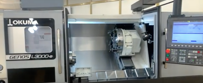 Looking for a new lathe – then consider this Okuma Genos L3000 from NCMT