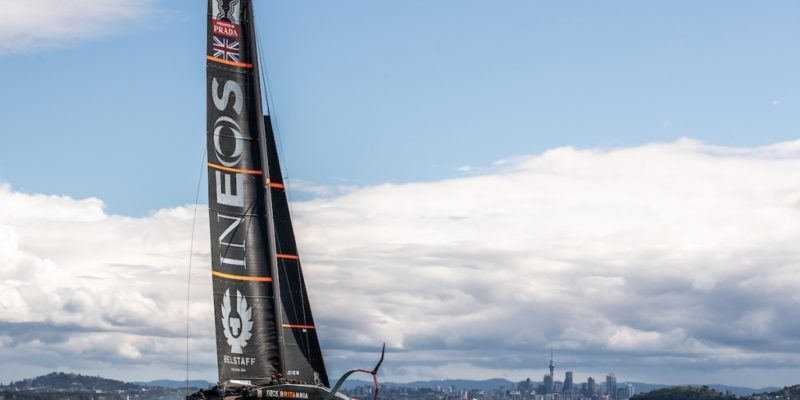 Renishaw supports INEOS TEAM UK in December 2020 America's Cup event