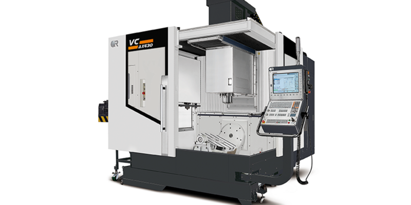 The Victor Vcenter AX630 5-Axis VMC from GM CNC Ltd