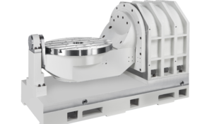 Detron DTF DDM Trunion Tilting Rotary Table