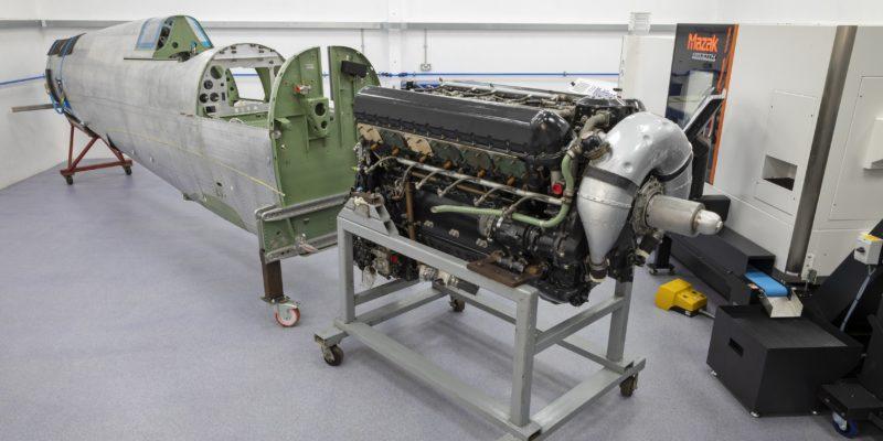 Vintage aeroplane restorer soars with Mazak machine investment