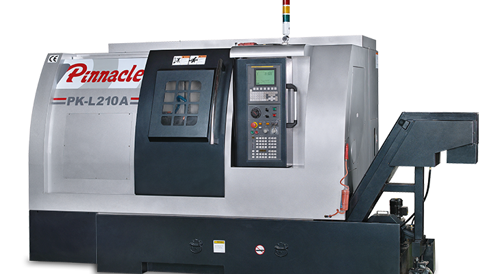 Pinnacle makes a turn with new lathe series