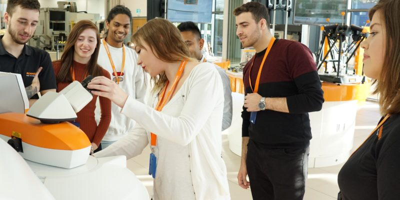 Renishaw recruits for record number of UK graduates and over 50 apprentices