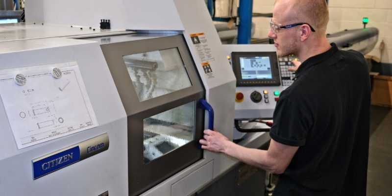 Subcontractor Started With One  Sliding-Head Lathe: Now There Are Ten