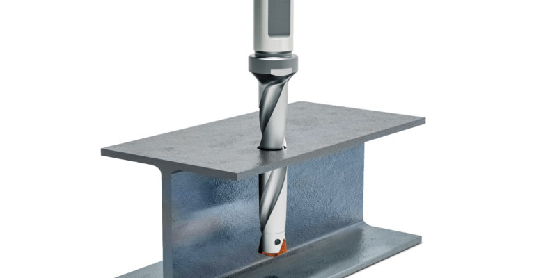 Economical and reliable machining of steel beams