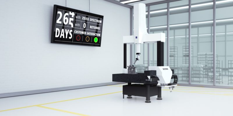 Save 15% when you buy or lease the new ZEISS SPECTRUM CMM
