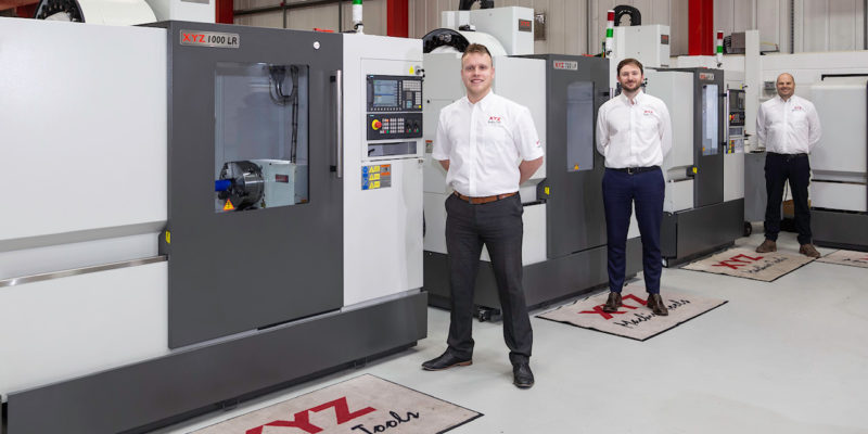 XYZ Machine Tools strengthens sales team