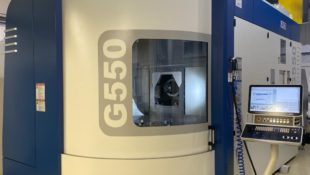 GROB G550 Universal 5-axis Machining Centre EX_DEMO/Immediate delivery