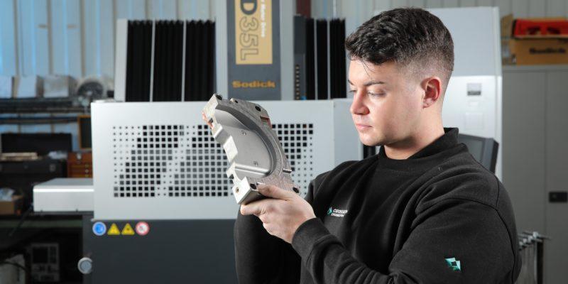 Sodick EDM aids vital medical work at Crossen Engineering