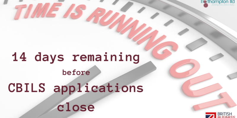 The deadline for the CBILS loan is now just 14 days away