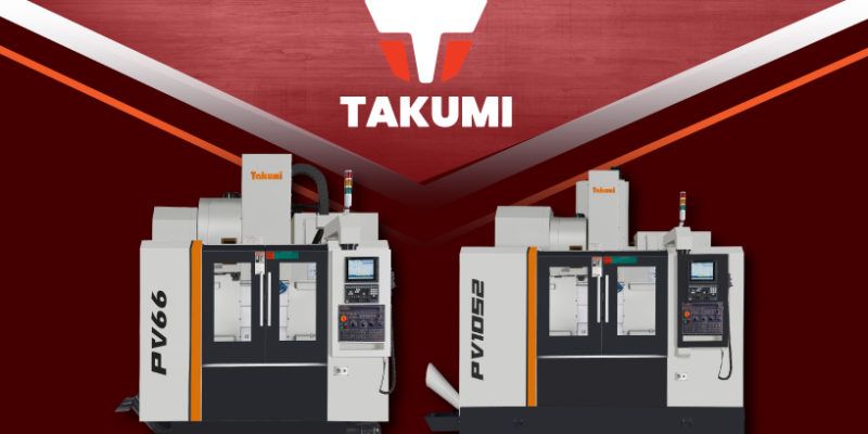 Takumi's Newest Vertical Machining Centres – PV66/PV1052
