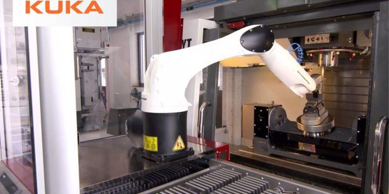 Automated Machine Tending from KUKA