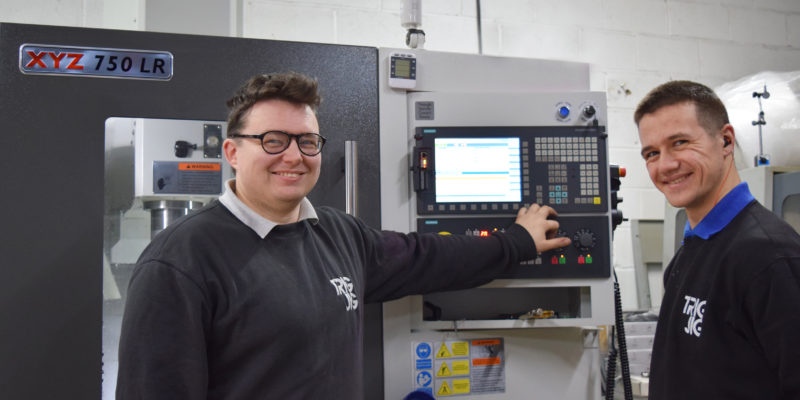 Ambitious growth at HiCi aided by investment in XYZ 750 LR vertical machining centre
