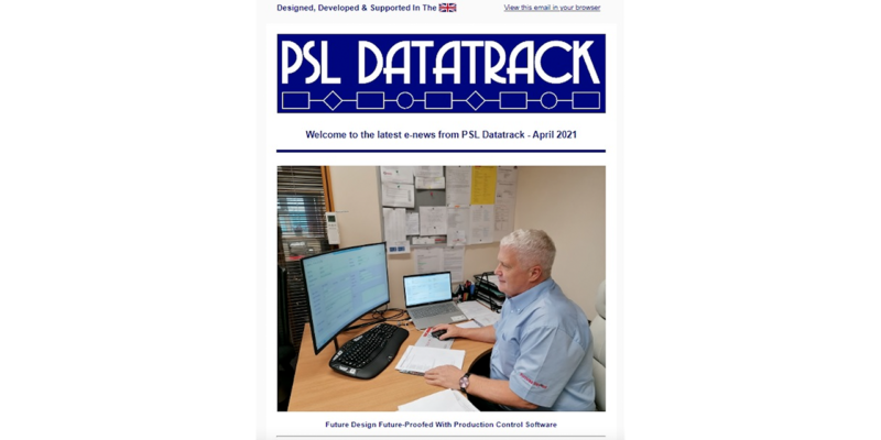PSL Datatrack Monthly Newsletter Coming Soon