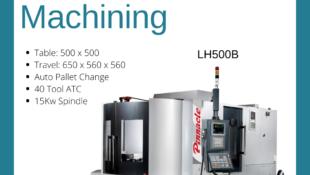 LH500B Horizontal Machining Centre