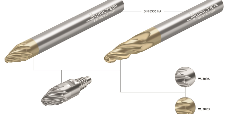 Walter Offers Barrelful of Benefits with New End Mills