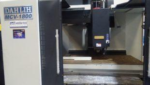 In Stock Dah Lih MCV-1800 CNC Vertical Machining Centre