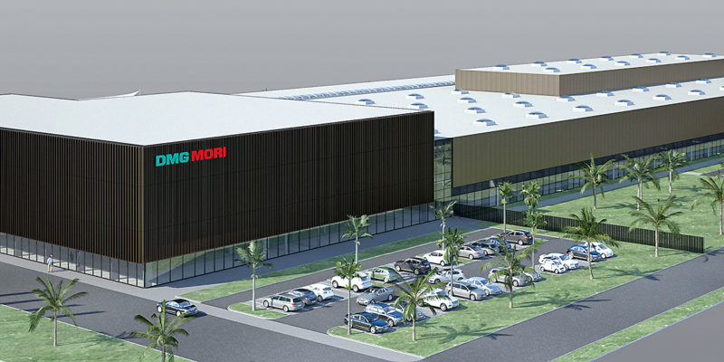 DMG MORI builds new production plant in Egypt